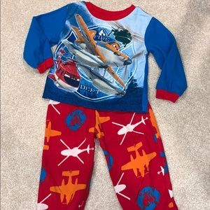 Disney Planes fleece pajamas